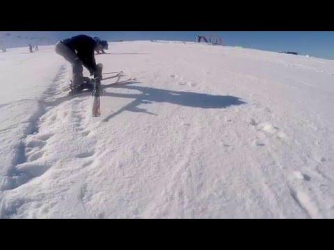 Ski lesson 2 - Faraya Mzar