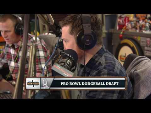 Pro Bowl Dodgeball Draft (1/26/17)