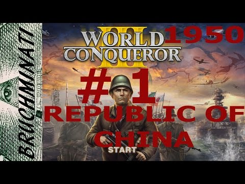 World Conqueror 3 Republic of China 1950 Conquest #1