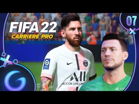 FIFA 22 : CARRIÈRE PRO FR #7 - Messi ce monstre !