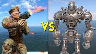 Fallout 4 - LIBERTY PRIME vs 250 COMMIE GHOULS - Battles #26