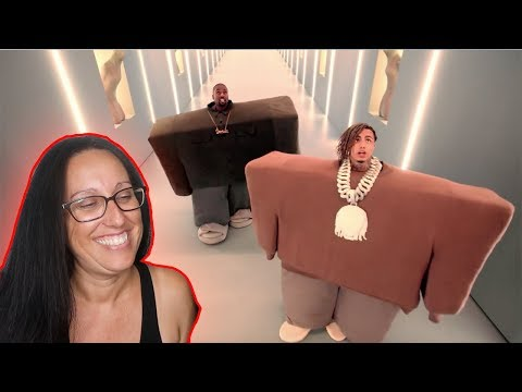 """Mom REACTS To Kanye West & Lil Pump Ft. Adele Givens - """"I Love It"""""""