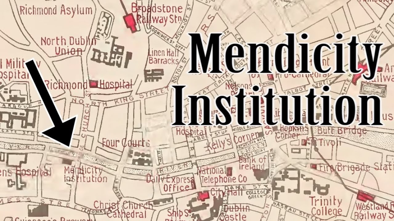 Map Of Ireland 1916.Sites Of 1916 Mendicity Institution Youtube