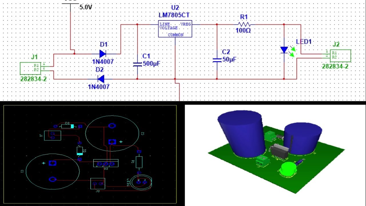 How To Make Pcb Layout In Ni Multisim Complete And Detailed Tutorial Youtube