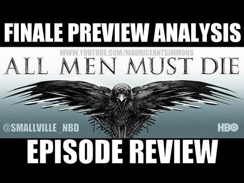 "Game of Thrones Season 4 ""Season Finale Preview: Khaleesi & Two Dragons Analysis"" *Podcast (4+Mins)"