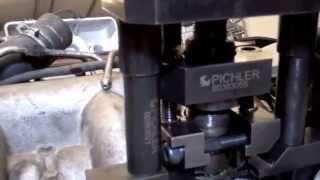 Extracción inyectores psa  2.2 hdi 16v