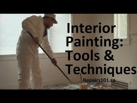Interior Painting Tools Techniques