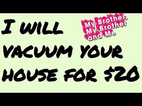 I'll Vacuum Your House for $20 | MBMBaM Animation