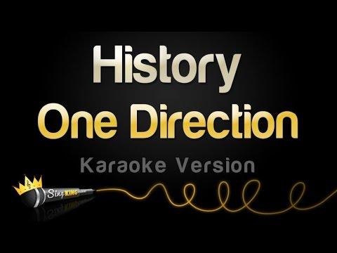 One Direction - History (Karaoke Version)