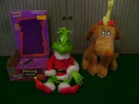 how the grinch stole christmasgemmydancing santa grinchplush dog max youtube - How The Grinch Stole Christmas Dog
