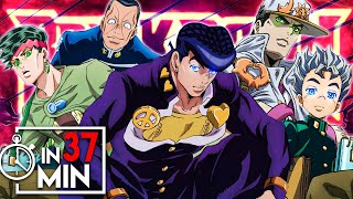 JOJOS BIZARRE ADVENTURE PART 4 IN 37 MINUTEN