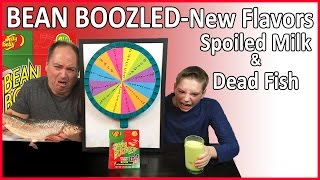 NEW Bean Boozled Challenge (4th edition), Dead Fish & Spoiled Milk : Crude Brothers