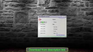 Free WMA MP3 Converter 1.8