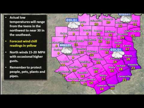 January Snow Potential And Cold Temperatures