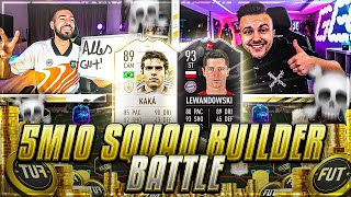 FIFA 21: 5 MIO COINS SQUAD BUILDER Battle 🔥🔥 Gamerbrother vs Wakez