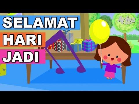 Alif & Mimi - Selamat Hari Jadi (Animasi 2D) Lagu Kanak Kanak
