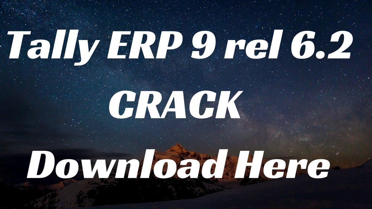 tally erp 9 6.5 gst crack download full version free