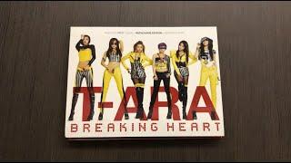 [Unboxing] T-ARA 티아라 1st Korean Album Repackage Breaking Hea…