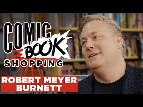 Collider Heroes' Robert Meyer Burnett Goes Comic Book Shopping