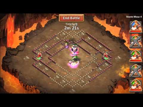 Castle Clash: Storm Mesa 4 Guide