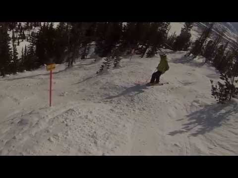 Alta Chutes Jackson Hole Wyoming Top 10 Steepest inbound