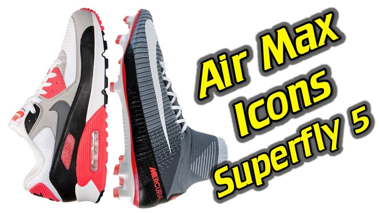 Nike Mercurial Superfly 5 Air Max Icons Pack One Take Review + On Feet