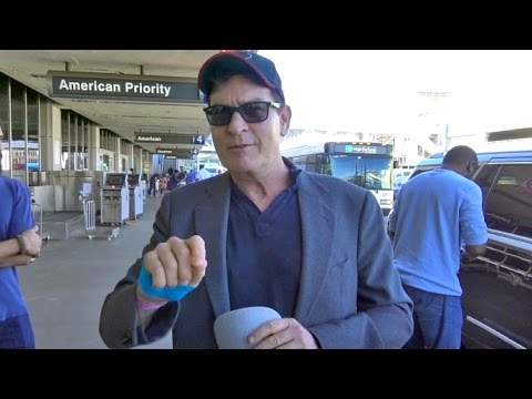Charlie Sheen Says Donald Trump Is 'Going To Be Really Upset That He Was Beat By A Woman'