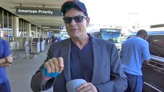 Charlie Sheen Says Donald Trump Is