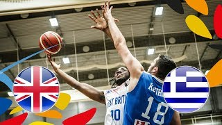Watch the Class. Game 9-16 between Great Britain and Greece from th...