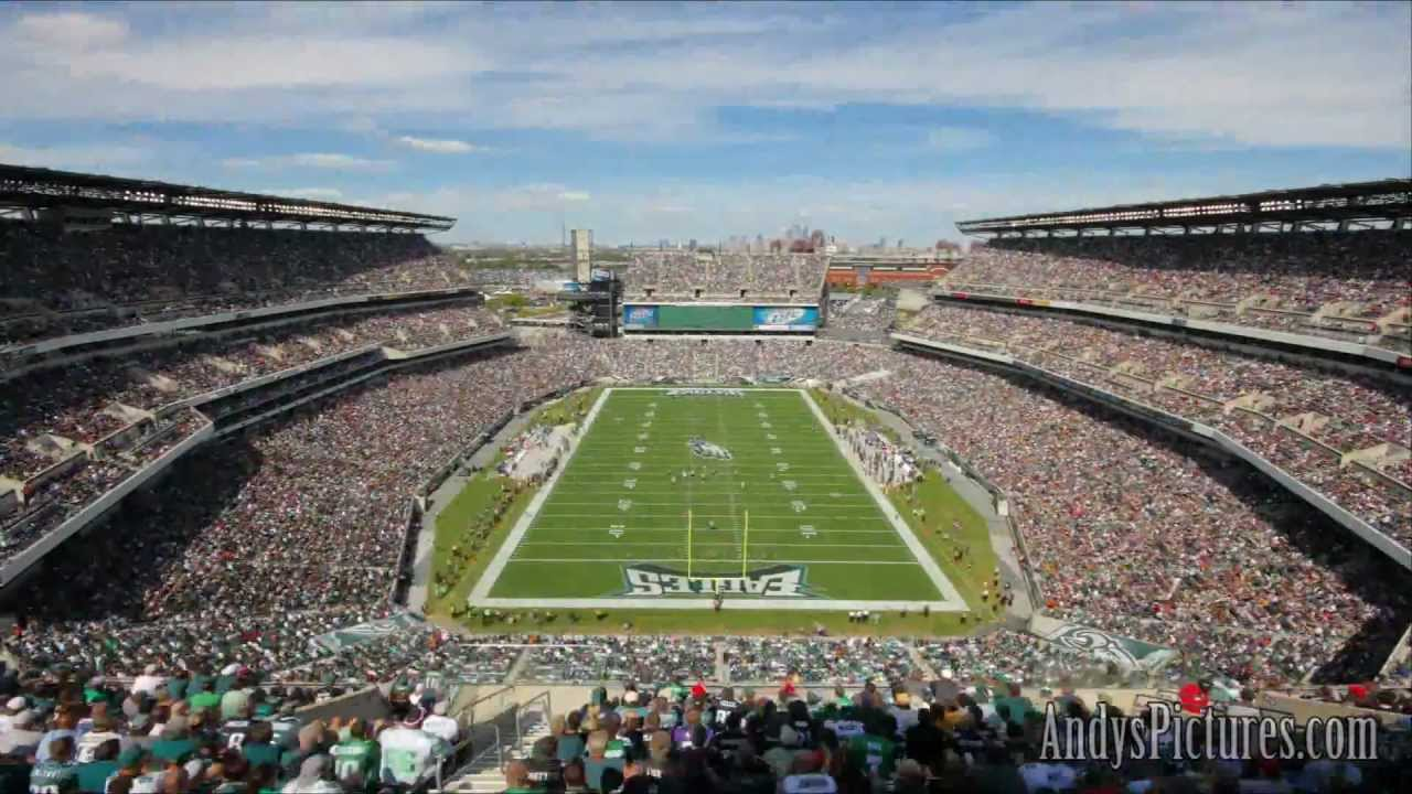 Nfl Time Lapse Lincoln Financial Field Bal Phi End