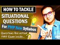 HOW TO ANSWER SITUATIONAL QUESTIONS IN THE PMP EXAM NEW FORMAT | PMP Exam Questions and Answers 2021