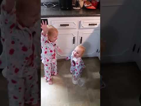 Heath West - Toddler Twins Throw Sugar Around Calling it Snow