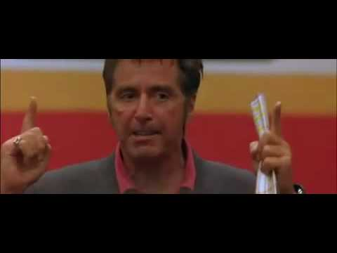 Any Given Sunday - Al Pacino Speech - Inch by inch