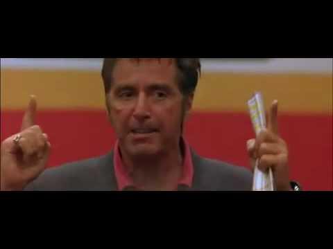 Any Given Sunday  Al Pacino Speech  Inch  inch