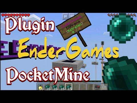 EnderGames_v1.0.0   PocketMine Plugin   Minecraft PE/BE 1.5.0 - 1.6.0   [FREE]