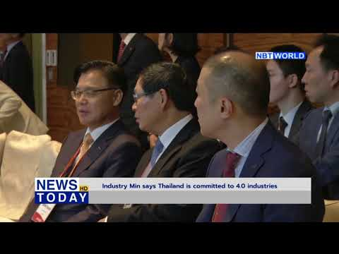 Industry Ministry says Thailand is committed to 4 0 industries
