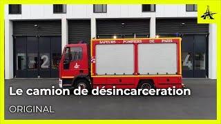 Découvrez un camion de pompiers : Le camion de désincarcération