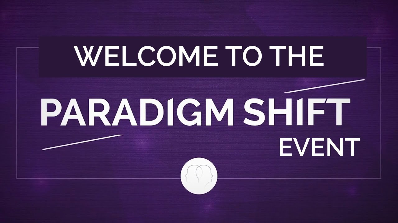 Welcome to the Paradigm Shift ...