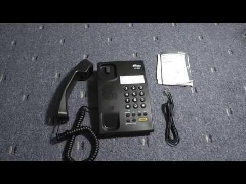 Видеообзор на Проводной телефон RITMIX RT 330 Black