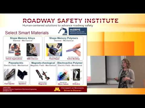 2016 Fall Seminar #5: Wearable Technologies and Smart Materials: Apps. for Transportation and Safety