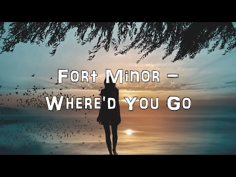 Fort Minor - Where'd You Go [Acoustic Cover.Lyrics.Karaoke]