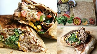 Better Than Chipotle Burrito -  Badass Vegan Kitchen