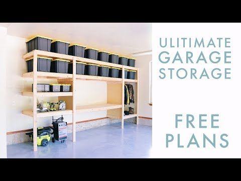 DIY Garage Storage / Shelf / Workbench Solution