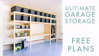 Diy Garage Storage / Shelf / Workbench Solution