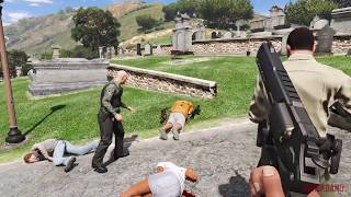 GTA 5 - NPC shoot-outs compilation #1