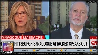 CNN Anchor SUFFERS Epic Failure After Trying To Get Tree Of Life Rabbi To Do Something He COULDN'T