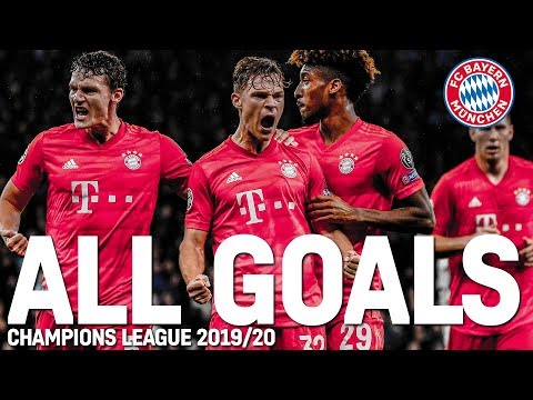 All Goals of the Champions League Group Stage   FC Bayern made UCL history