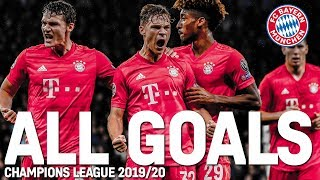 All Goals of the Champions League Group Stage | FC Bayern made UCL history