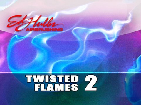 Airbrushing Twisted Flames - [part - 2 of 3]