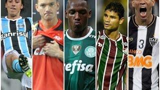 TOP 7: ZAGUEIROS QUE ATUAM NO BRASIL- O MELHOR DO BRASIL